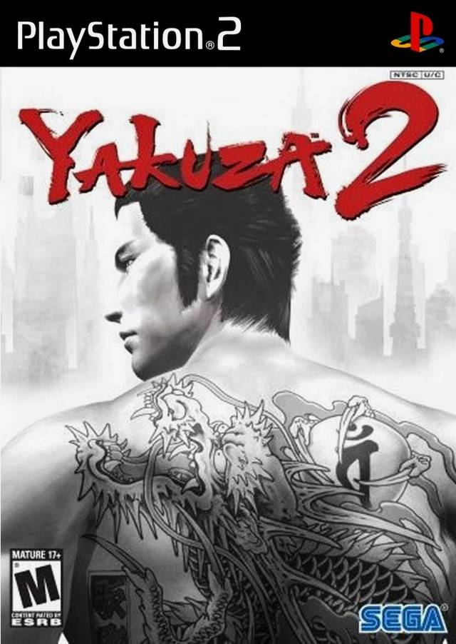 Yakuza 2 PS2 Box Art Front USA 2008