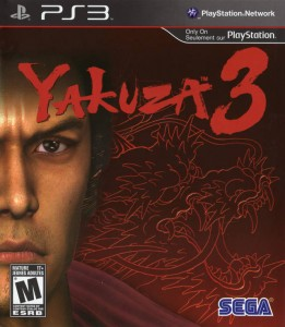 Yakuza 3 PS3 Box Art Front USA Mature