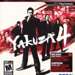 Yakuza 4 PS3 Box Art Front USA Mature