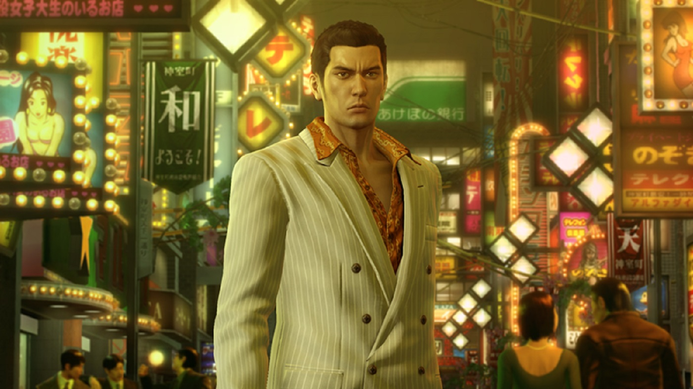 Yakuza Zero Screenshot City PS4