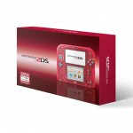 2DS See Through Translucent Crystal Red Color 2014 Box