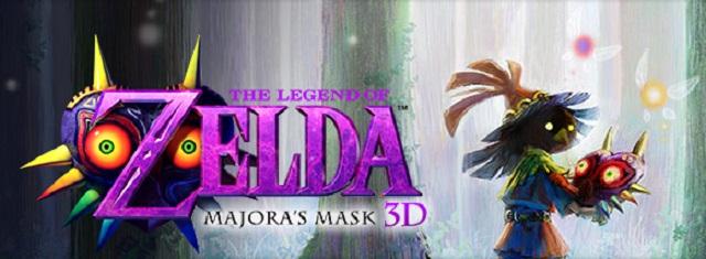 3DS Majora's Mask Skull Kid Logo