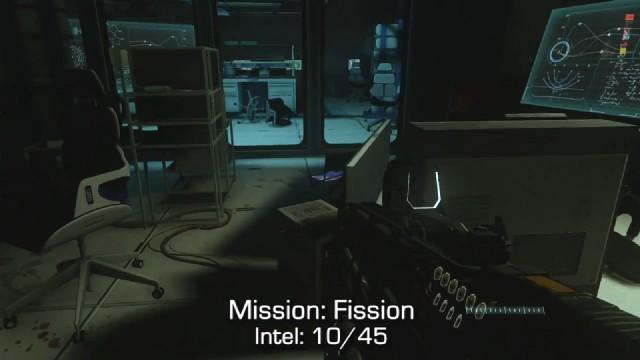 Call of Duty: Advanced Warfare Intel Location 10 in Mission 4: Fission