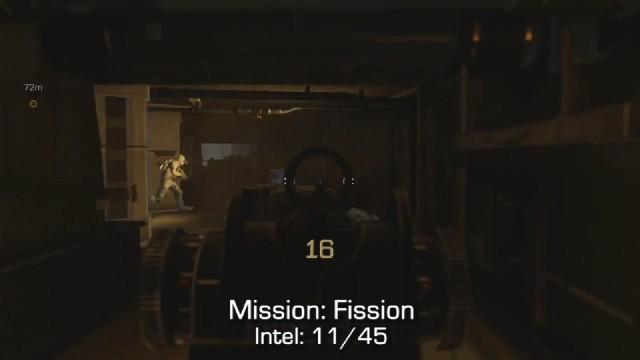 Call of Duty: Advanced Warfare Intel Location 11 in Mission 4: Fission