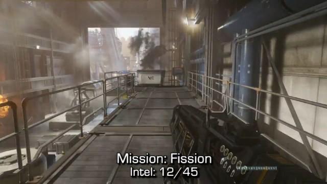 Call of Duty: Advanced Warfare Intel Location 12 in Mission 4: Fission