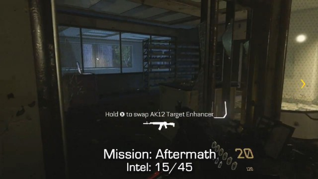Call of Duty: Advanced Warfare Intel Location 15 in Mission 5: Aftermath