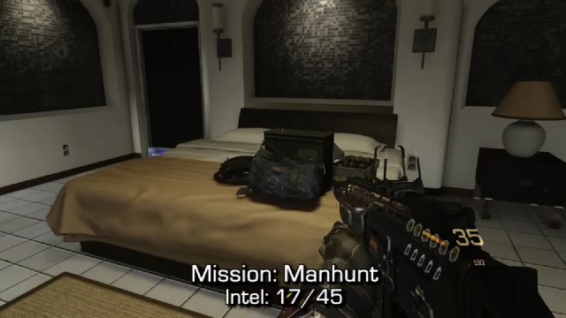 Call of Duty: Advanced Warfare Intel Location 17 in Mission 6: Manhunt
