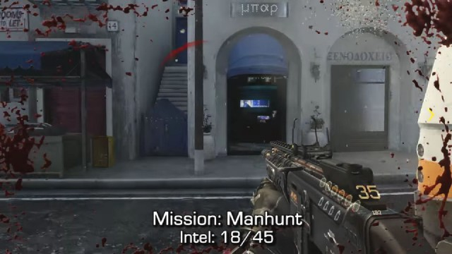 Call of Duty: Advanced Warfare Intel Location 18 in Mission 6: Manhunt