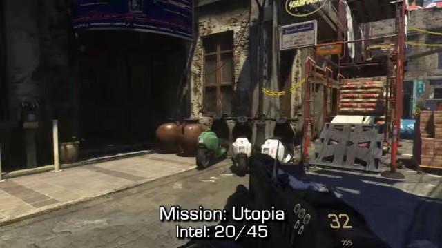 Call of Duty: Advanced Warfare Intel Location 20 in Mission 7: Utopia