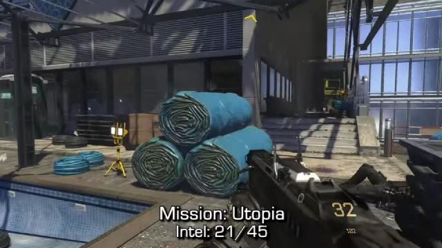 Call of Duty: Advanced Warfare Intel Location 21 in Mission 7: Utopia