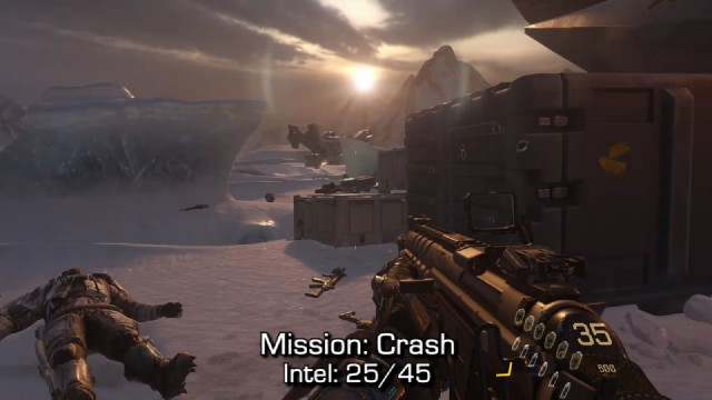 Call of Duty: Advanced Warfare Intel Location 25 in Mission 9: Crash