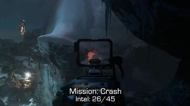 Call of Duty: Advanced Warfare Intel Location 26 in Mission 9: Crash