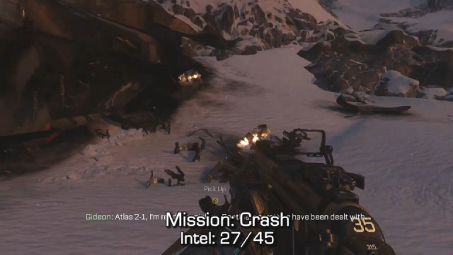 Call of Duty: Advanced Warfare Intel Location 27 in Mission 9: Crash