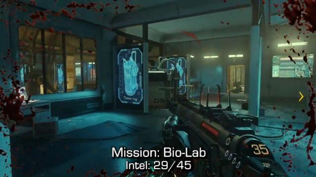 Call of Duty: Advanced Warfare Intel Location 29 in Mission 10: Bio-Lab
