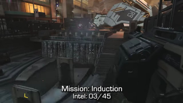 Call of Duty: Advanced Warfare Intel Location 3 in Mission 1: Induction