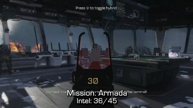 Call of Duty: Advanced Warfare Intel Location 36 in Mission 12: Armada