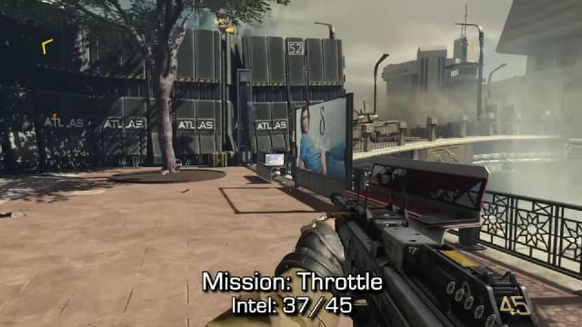 Call of Duty: Advanced Warfare Intel Location 37 in Mission 13: Throttle