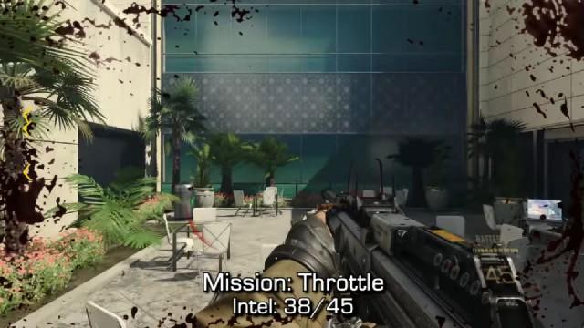Call of Duty: Advanced Warfare Intel Location 38 in Mission 13: Throttle