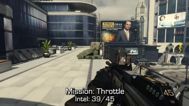 Call of Duty: Advanced Warfare Intel Location 39 in Mission 13: Throttle