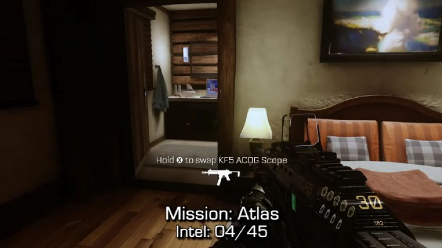 Call of Duty: Advanced Warfare Intel Location 4 in Mission 2: Atlas
