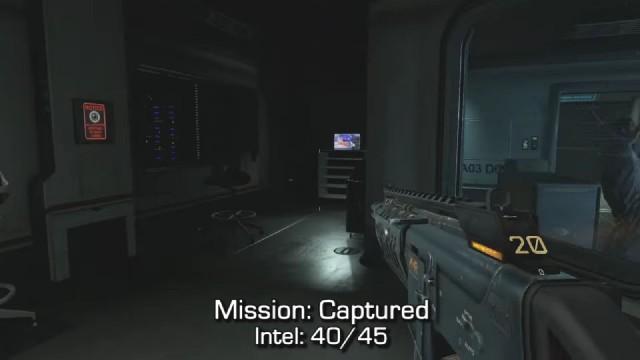 Call of Duty: Advanced Warfare Intel Location 40 in Mission 14: Captured