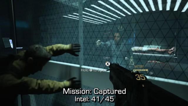 Call of Duty: Advanced Warfare Intel Location 41 in Mission 14: Captured