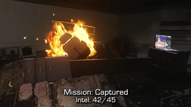 Call of Duty: Advanced Warfare Intel Location 42 in Mission 14: Captured