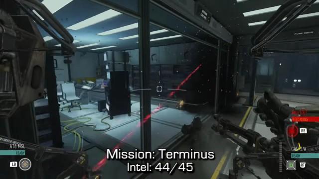 Call of Duty: Advanced Warfare Intel Location 44 in Mission 15: Terminus