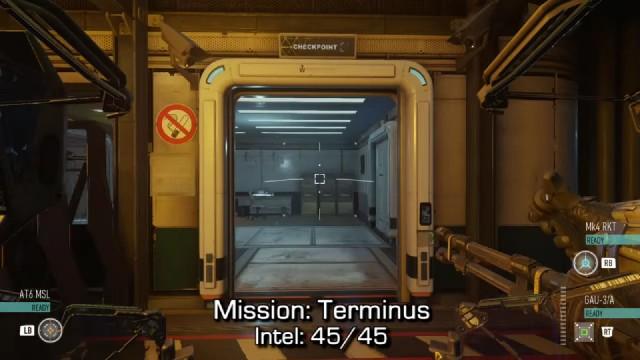 Call of Duty: Advanced Warfare Intel Location 45 in Mission 15: Terminus