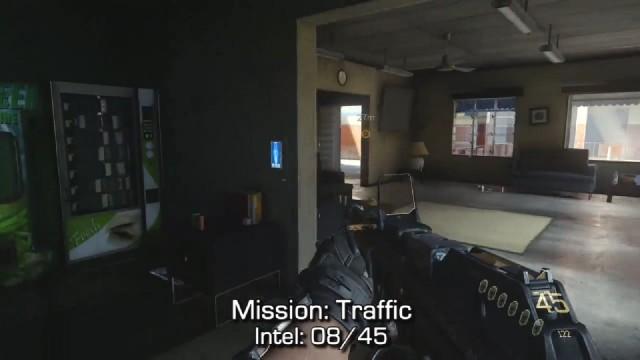 Call of Duty: Advanced Warfare Intel Location 8 in Mission 3: Traffic