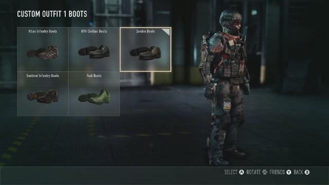 Call of Duty: Advanced Warfare Zombie Boots