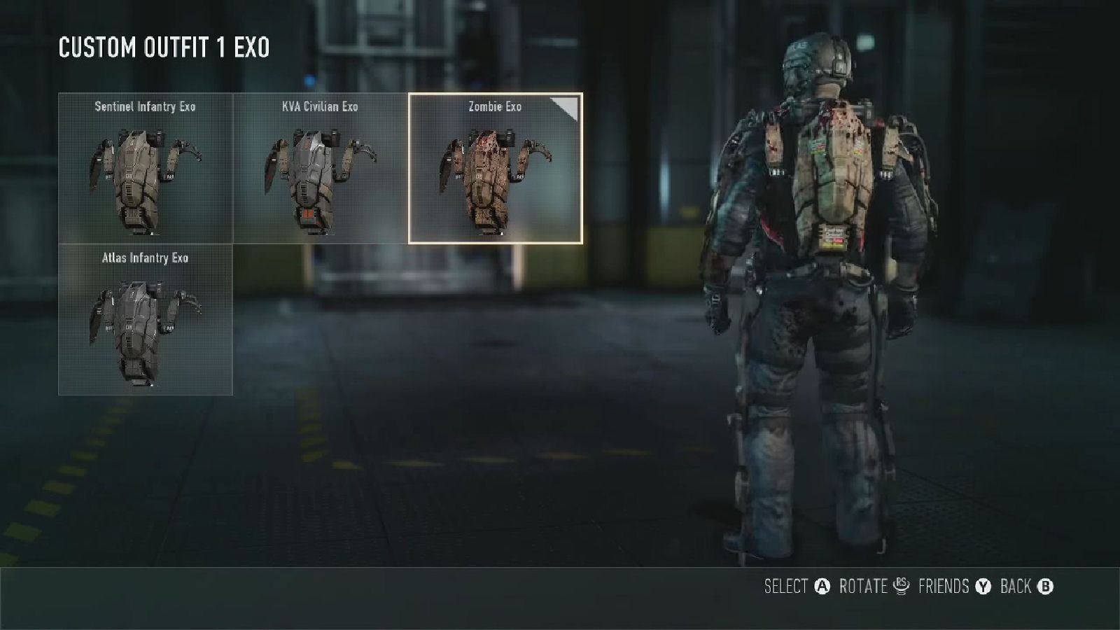 Call of Duty: Advanced Warfare Zombie Exo-Suit