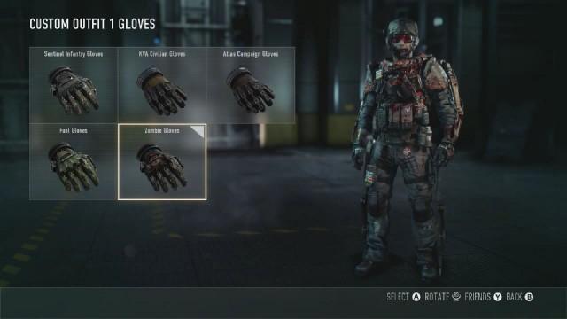 Call of Duty: Advanced Warfare Zombie Gloves