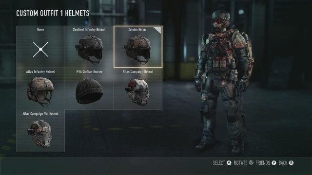 Call of Duty: Advanced Warfare Zombie Helmet