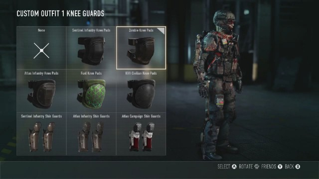 Call of Duty: Advanced Warfare Zombie Knee Pads