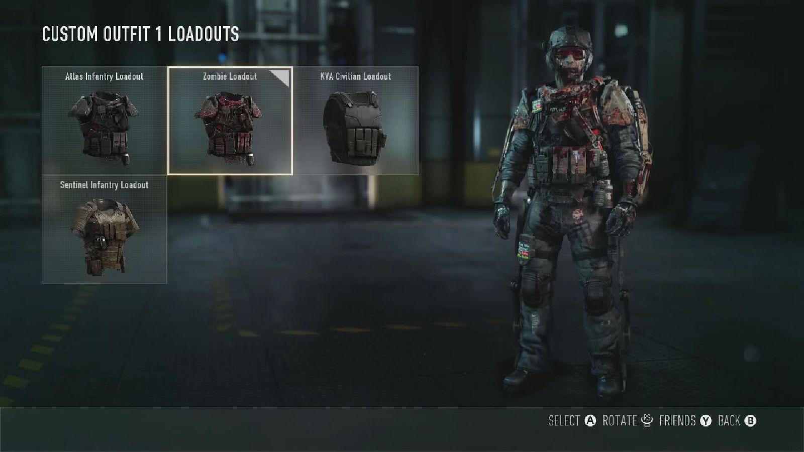 Call of Duty: Advanced Warfare Zombie Loadout
