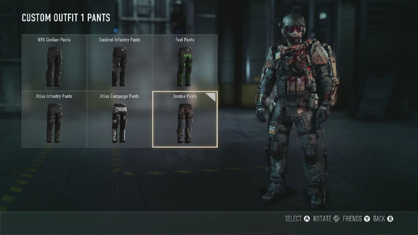 Call of Duty: Advanced Warfare Zombie Pants