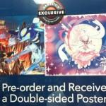 Double-Sided Poster Pokemon Omega Ruby Alpha Sapphire Pre Order Bonus GameStop USA