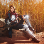 Dragon Age Inquisition: Varric Cosplay Photo 1