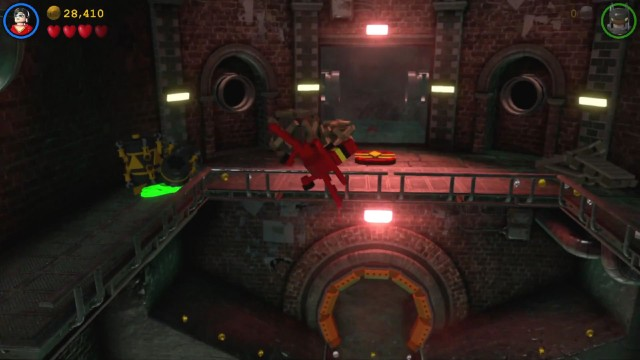 Lego Batman 3 Red Brick 1: Studs x2 Location