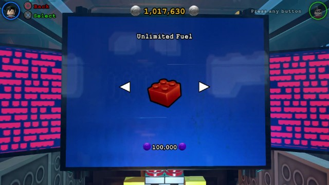 Lego Batman 3 Red Brick 19: Unlimited Fuel Location