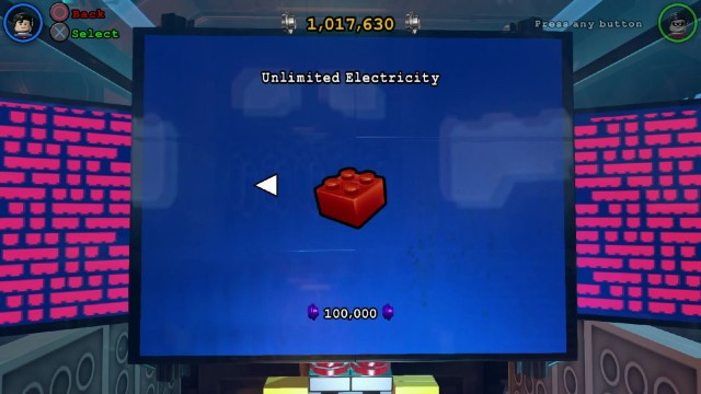 Lego Batman 3 Red Brick 20: Unlimited Electricity Location