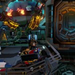 Lego Batman 3 Red Brick 5: Studs x10 Location