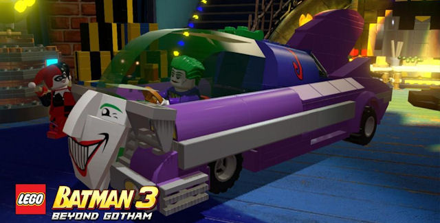 Lego Batman 3 Unlockable Vehicles