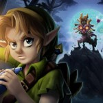Link and Skull Kids Majora's Mask Fanart