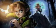 Link and Skull Kids Majora's Mask Fanart