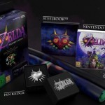 Majora's Mask 3DS Collector's Edition UK Contents Steelbook Case Pin Badge Jewel Box Poster Set