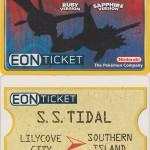 Physical Eon Ticket eCard eReader GBA Nintendo Power Pokemon Ruby Sapphire 2003
