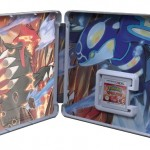 Pokemon Alpha Sapphire Omega Ruby Collector's Edition Steelbook UK 3DS