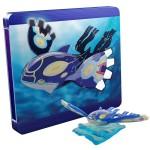 Pokemon Alpha Sapphire Limited Edition Steelbook Kyogre Figure UK 3DS